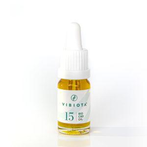 Produktfoto von CBD Öl Vollspektrum Bio Naturextrakt Flasche 15%