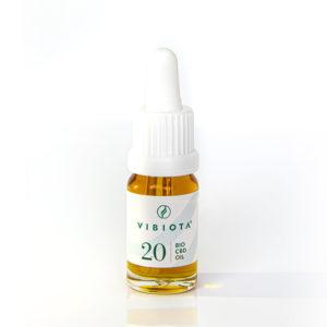 Produktfoto von CBD Öl Vollspektrum Bio Naturextrakt Flasche 20%