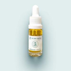 Produktfoto VIBIOTA Bio CBD Öl 10ml Flasche, 5%, 500mg CBD, Vollspektrum, Basis MCT-Öl