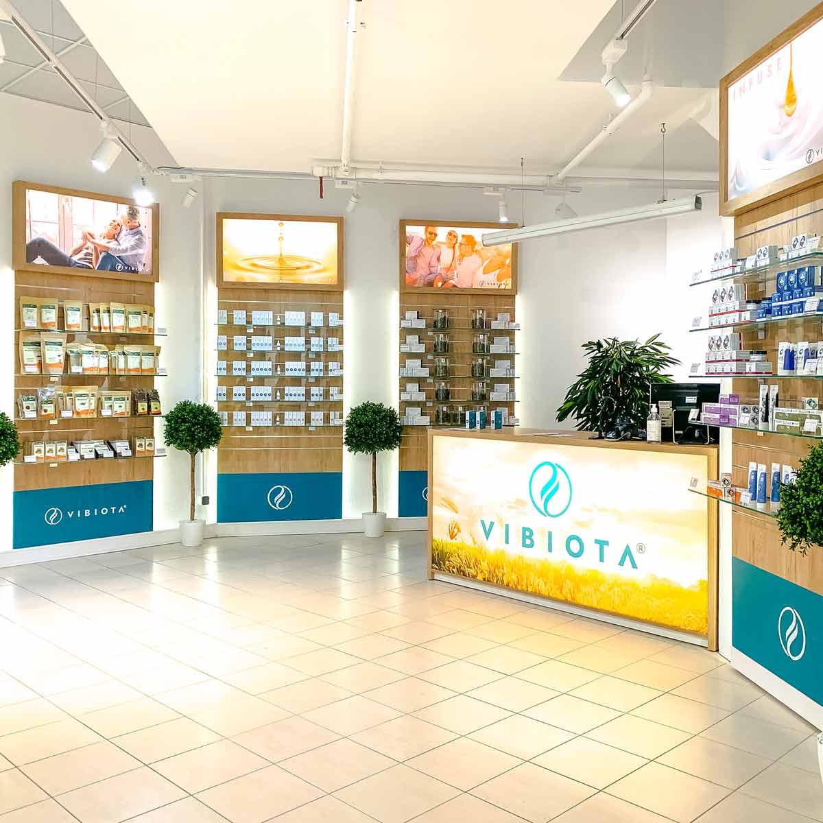 Foto 3 unserer Vibiota CBD Store Shop Filiale im Millennium City, 1200 Wien