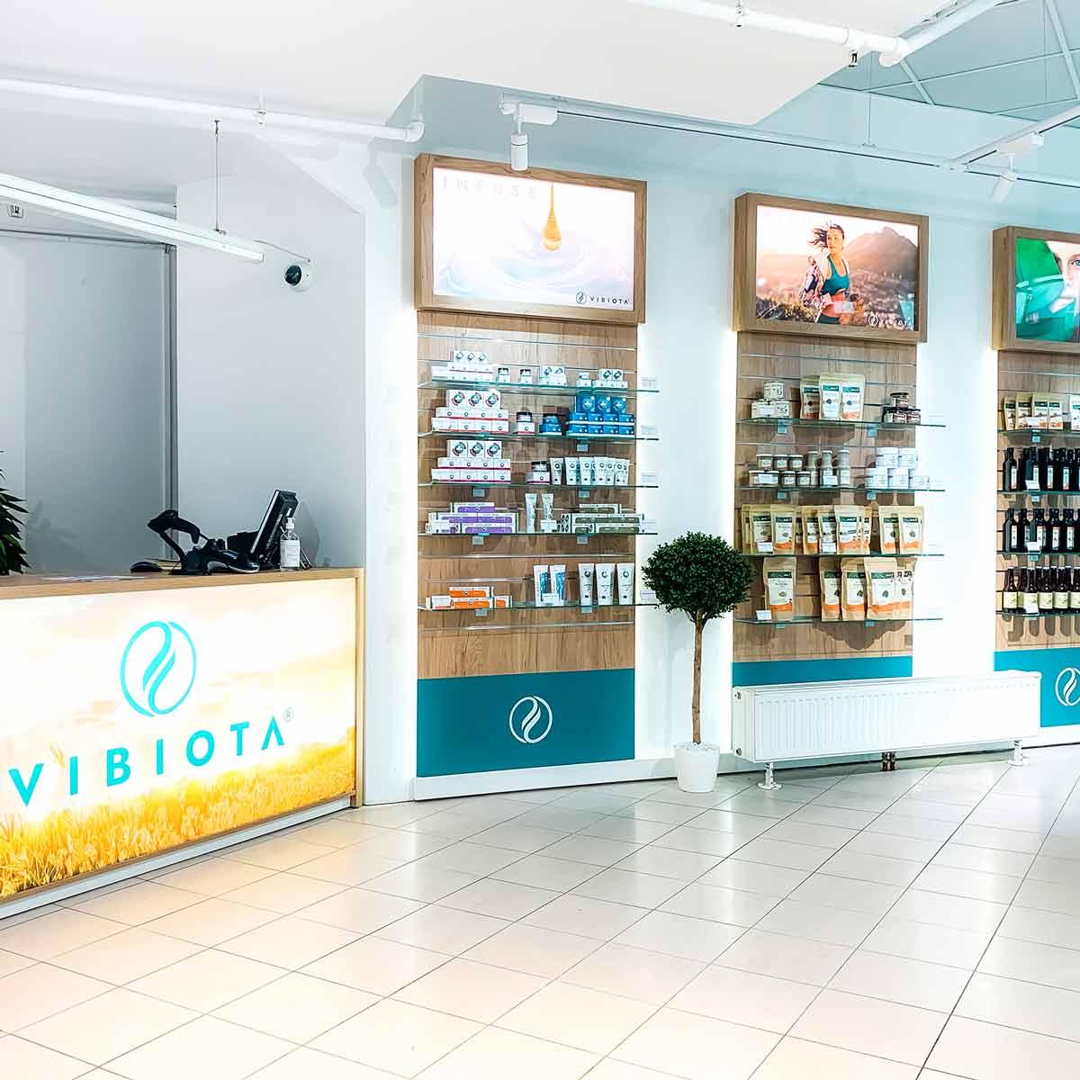 Foto 4 unserer Vibiota CBD Store Shop Filiale im Millennium City, 1200 Wien