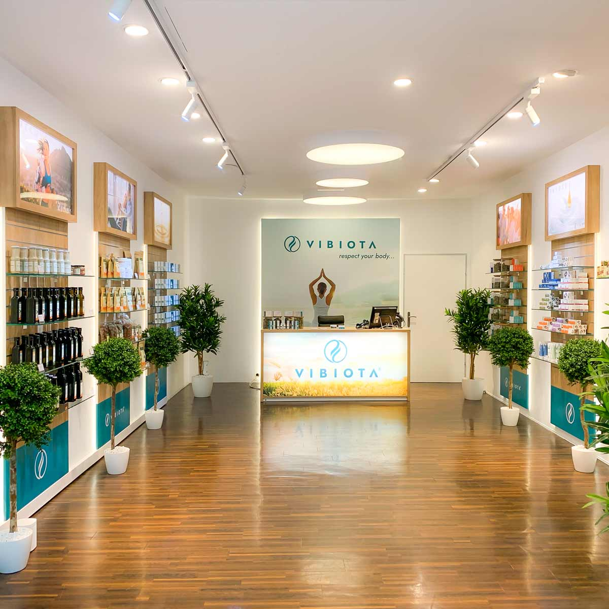Foto 2 unserer Vibiota CBD Store Shop Filiale in Wien Mitte The Mall, 1030