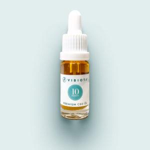 Produktfoto VIBIOTA Bio CBD Öl 10ml Flasche, 10%, 1000mg CBD, Vollspektrum, Basis MCT-Öl