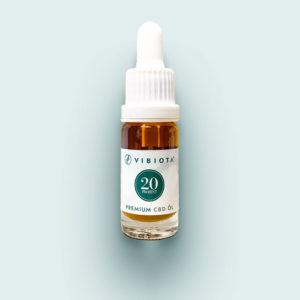 Produktfoto VIBIOTA Bio CBD Öl 10ml Flasche, 20%, 2000mg CBD, Vollspektrum, Basis: MCT-Öl