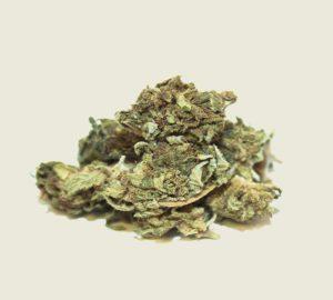 "Product photo of our organic CBD aroma flower ""Blackberry"""