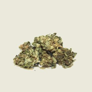 "Product photo of our organic CBD aroma flower ""Mango"""