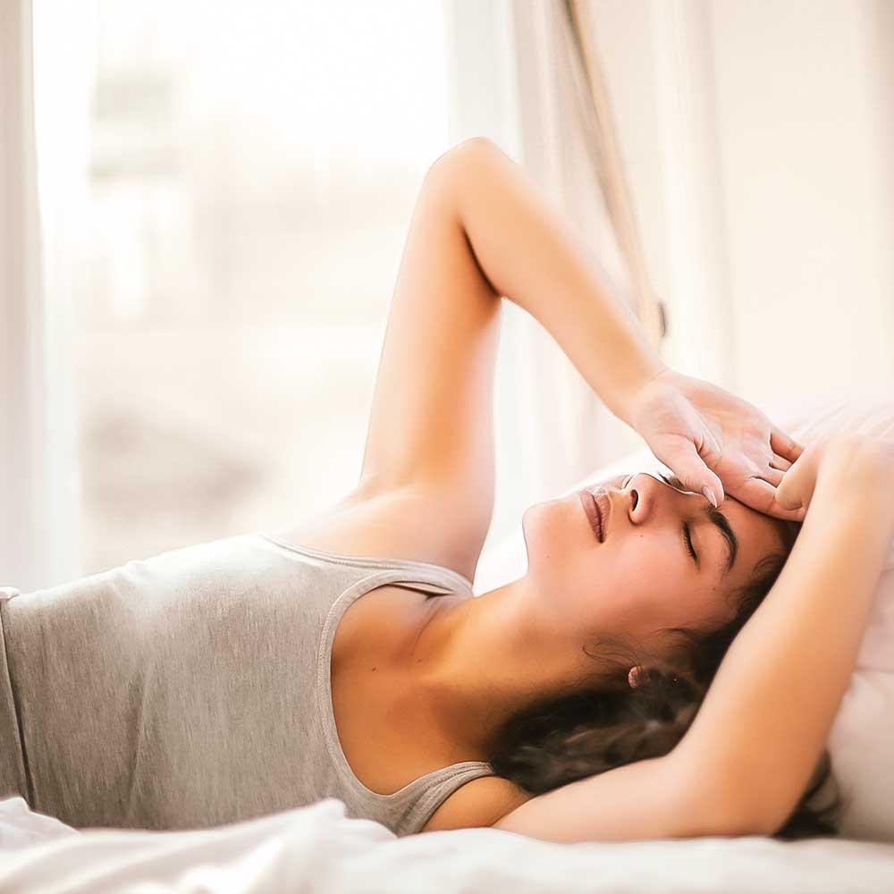 """Vibiota Blog Beitragsbild zum Thema """"CBD gegen Migräne"""""""